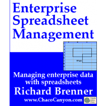 Enterprise Spreadsheet Management, downloadable hyperbook Edition