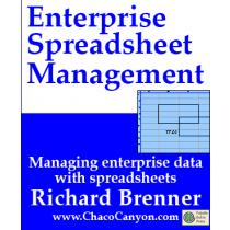 Enterprise Spreadsheet Management, on-line edition, 3 mos.