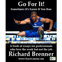 Go For It! Sometimes It's Easier If You Run