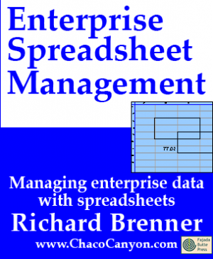 Enterprise Spreadsheet Management, on-line edition, 3 mos.