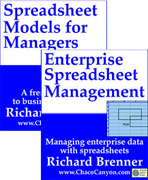 Package: Spreadsheet Models for Managers and Enterprise Spreadsheet Management, downloadable editions