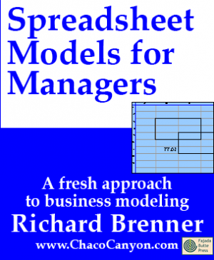 Spreadsheet Models for Managers, on-line edition, one month