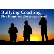 Coaching for Workplace Bullying, 5 hours, employer-supported